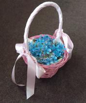 Wedding Petal Basket, Briar Rose Flowers, Warkworth.