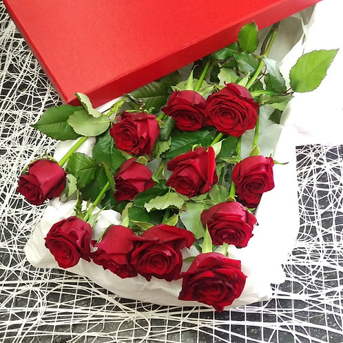 Boxed Roses - One to a Dozen, prices from...