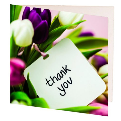 Card - Thank You (7cm)