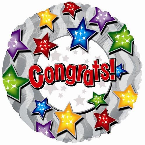 Balloon (Helium) - Congratulations