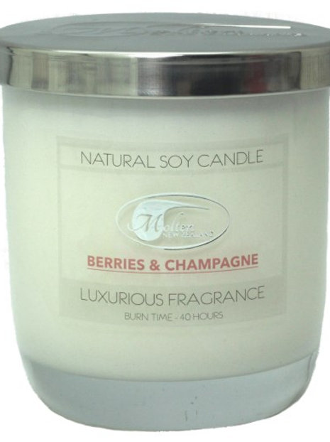 Candle Jar - Scented Soy