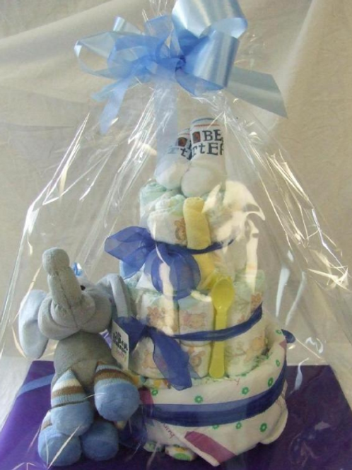 Nappy Cake - Baby Boy, prices from...