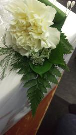 Corsage, Briar Rose Flowers, Warkworth.