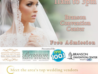 Booths Spaces are filling up for the 2018 Wedding Expo!