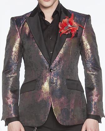 Art Purple Blazer