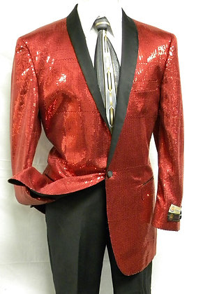 BSQ-1 Red Sequin