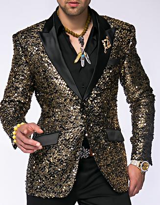 Stella Gold Sequin Jacket