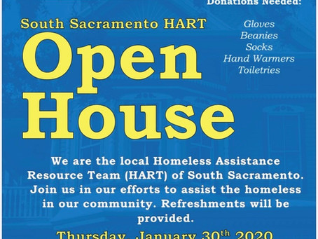South Sac HART's First Open House