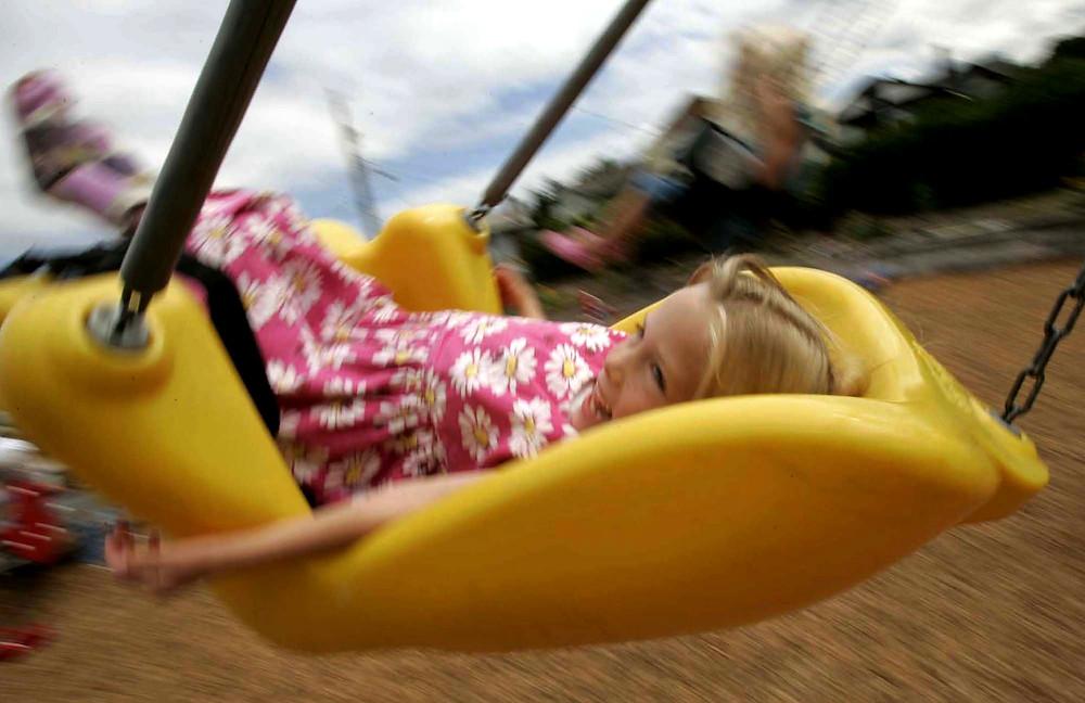 Annie Swinging!