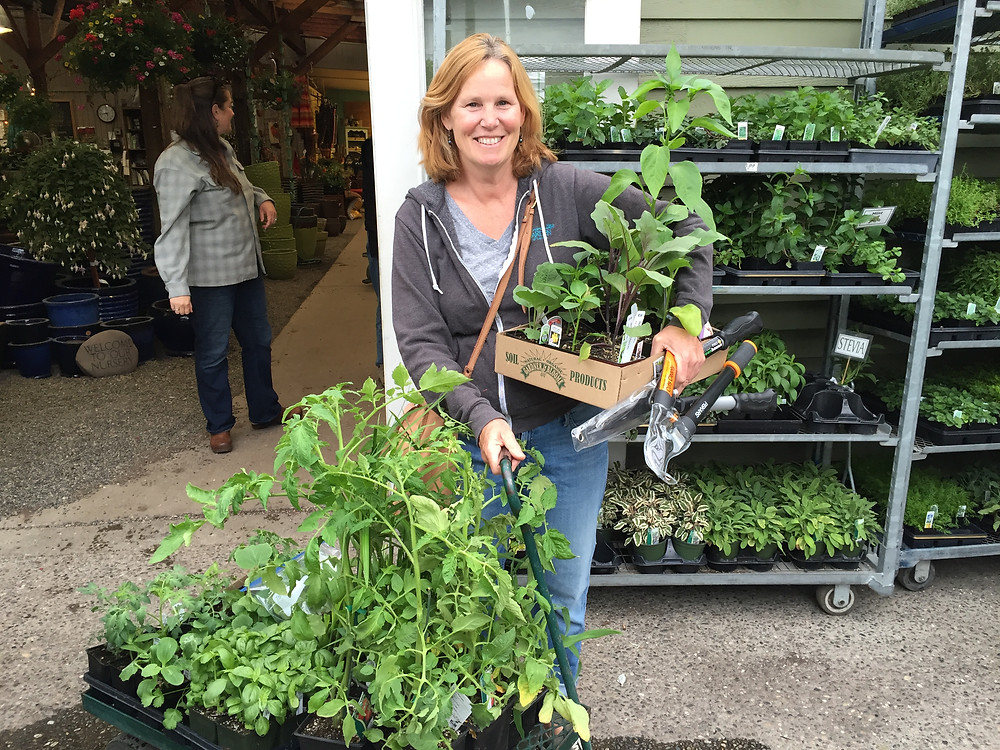 Loads of plants from City People's Garden Center