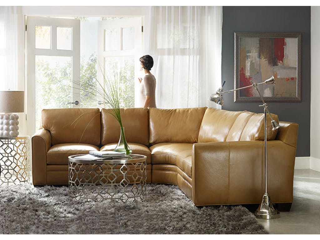Super Leather Sectional Sofa By Bradington Young Andrewgaddart Wooden Chair Designs For Living Room Andrewgaddartcom