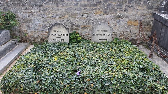 ゴッホとテオのお墓
