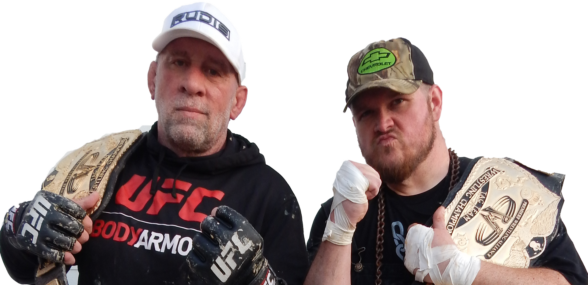 Hammer & Hogg (Mark Coleman & JT Hogg(x3))