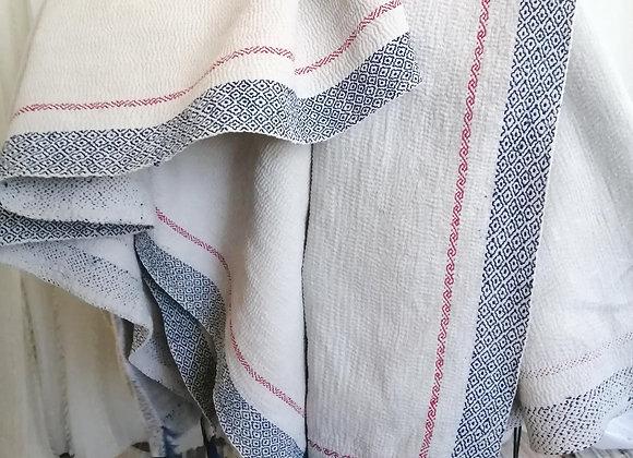 ラリーキルト・カンタ  白×ブルー H