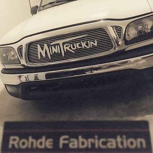 """MINI TRUCKIN"" GRILL BADGE"