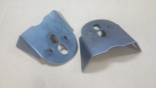 Rear upper bag brackets