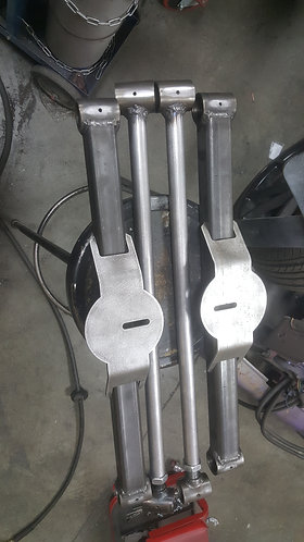 Bag on bar bag brackets