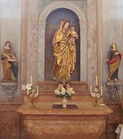 Autel de la Vierge - Etrigny - © FCL
