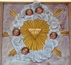 Gloire - Eglise Etrigny - © FCL
