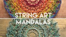 Bringing back retro string art: mandalas