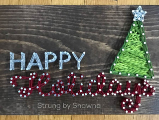 More string art designs added for Fall and Christmas