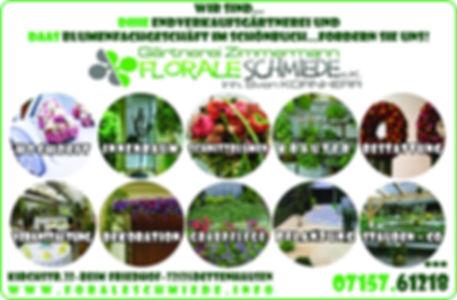 Beschreibung Gärtnerei und Blumenladen