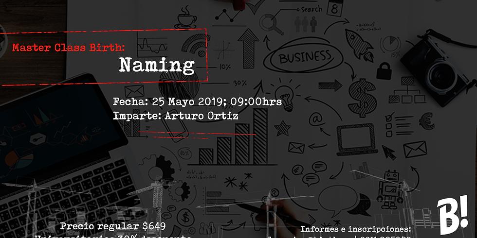 Master Class: Naming.