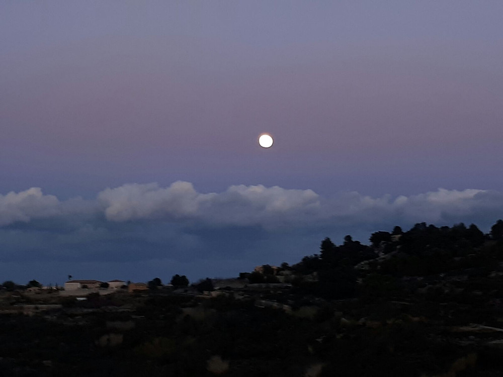 Sky over Solterreno, December 3, 2017