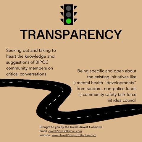 Transperancy (continued)