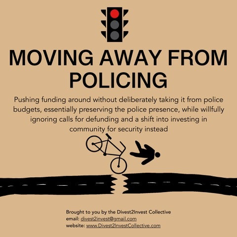 Moving Away from Policing