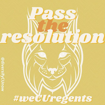 Pass the Resolution University of Denver