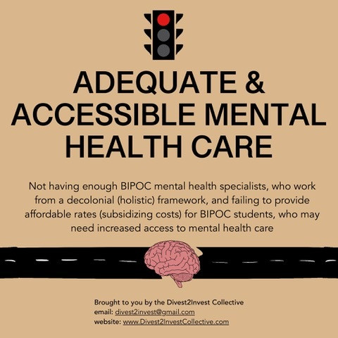 Adequate and Accessible Mental Health Care