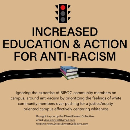 Increased Education and Action for Anti-Racism