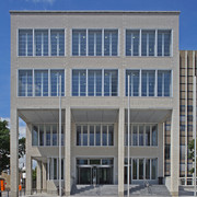 Universitätsbibliothek Karlsruhe / Neubau einer 24-Stundenbibliothek