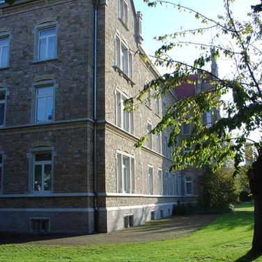 Bildungshaus St. Bernhard Rastatt / Sanierung Gebäude und Aufarbeitung Sandsteinfassade