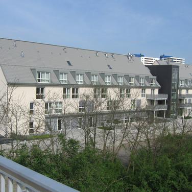 Altenzentrum Speyer / Neubau eines Pflegeheims mit Wohneinheiten