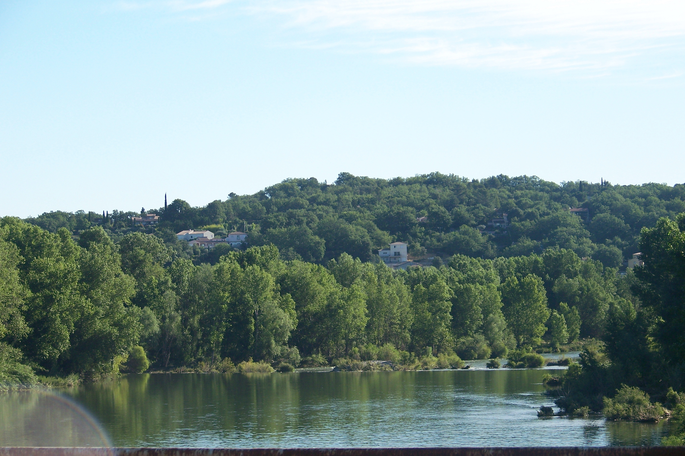 Le Gardon, vue N106, Ners