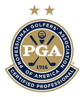 PGA Certified Professional (Stars) Logo