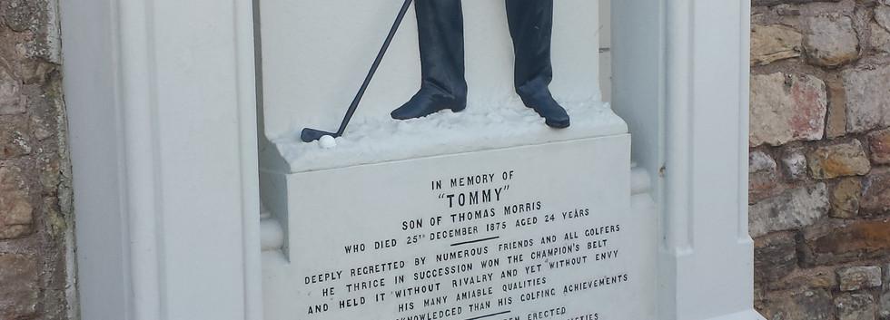 Grave of Tom Morris
