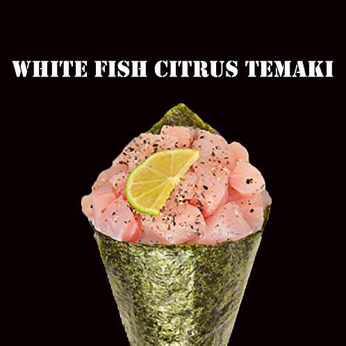 WHITE FISH CITRUS TEMAKI