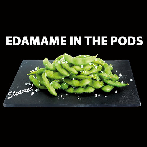 STEAMED EDAMAME IN THE PODS
