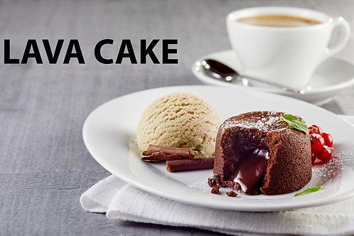 LAVA CAKE & ICE CREAM