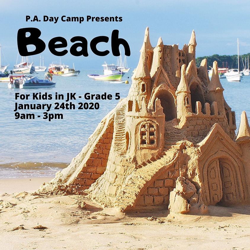 Beach P.A. Day Camp