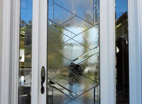 New Door Glass for San Jose Home