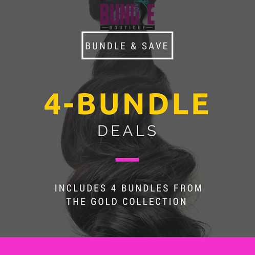 Gold Collection | 4 Bundle Deal