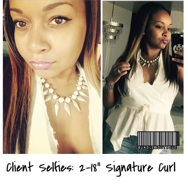 Diamond #curlyhair flat-ironed 😍 #selfie #selfienation #selfies #bundleboutique #pre