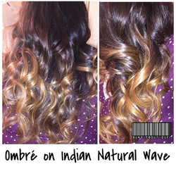 Ombre on indian natural wave _ Available at www.thebundleboutique