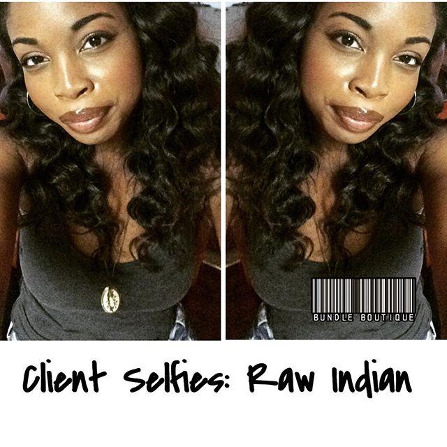 ❤️❤️❤️ RAW HAIR __Client Selfies_ Indian Hair  #selfies #selfienation #shamelessselfie #rickynyc #bu