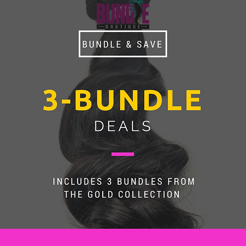 Gold Collection | 3 Bundle Deal