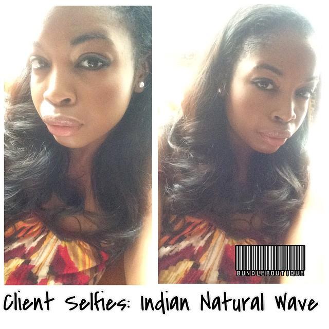 Client Selfies_ 18_ + 20_ Indian Natural Curl not wave 😍 #virginhair #hair #pretty #selfie #shamele